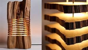 Lampen Aus Holz : diese lampen setzen holz in szene alles ber split grain ~ Markanthonyermac.com Haus und Dekorationen