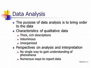 Qualitative Research: Data Analysis and Interpretation ...