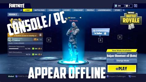 How To Make Your Epic Games Account Appear Offline/away In