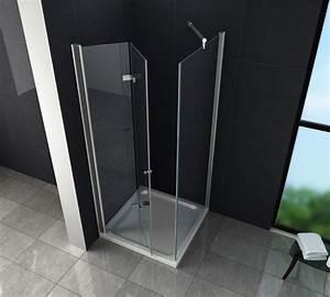 Falttür Mit Glas : faltt r duschkabine onto 90 x 90 x 195 cm ohne duschtasse glasdeals ~ Sanjose-hotels-ca.com Haus und Dekorationen