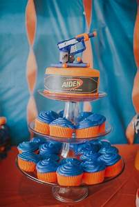 Nerf Birthday Party Ideas | Diego's 10th B-Day | Pinterest ...