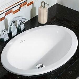 Vasque à Encastrer : vasque salle de bains vasque poser ou encastrer ~ Edinachiropracticcenter.com Idées de Décoration