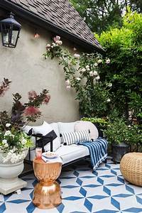 7 Outdoor Spaces With The Prettiest Patterned Tile