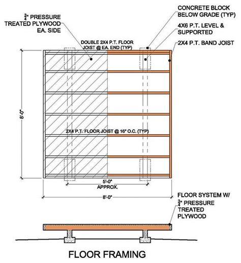 8x8 wood deck plans 8 215 8 garden shed building plans blueprints for simple