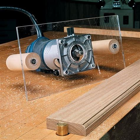 trim router base upgrade trim router woodworking