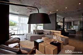 Interior Design Houses by Dramatic Modern House By Site Interior Design Decoholic
