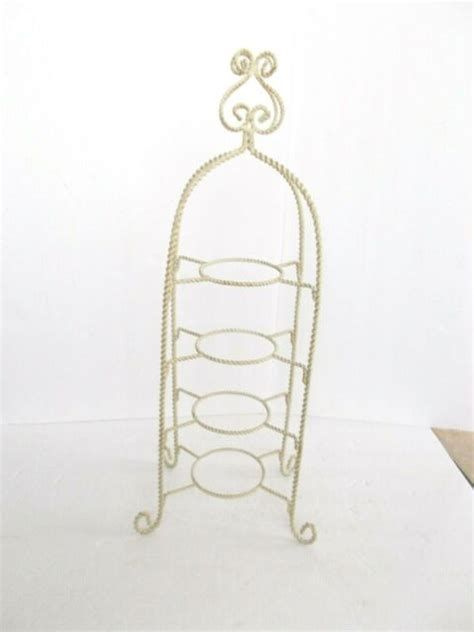 metal plate holder measuring approx  inches tall   plate holders  inches ebay