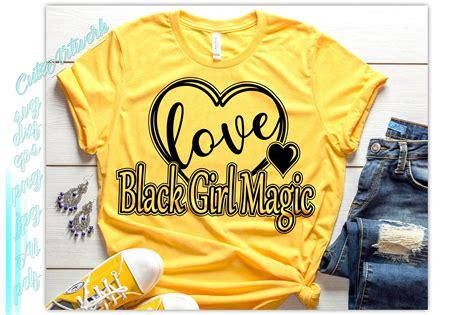 black girl magic svg young black  dope svg melanin svg  cut files design bundles