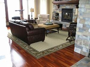 Wool area rug contemporary living room ottawa by for Area rugs living room