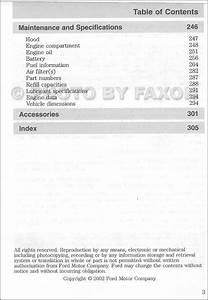 2002 Ford F150 Owners Manual Original F