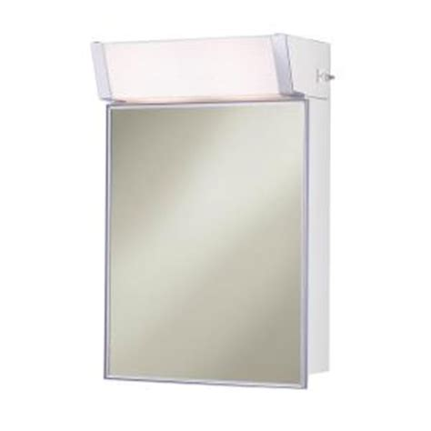 lighted medicine cabinet home depot lighted 16 in w x 24 in h x 8 in d framed stainless