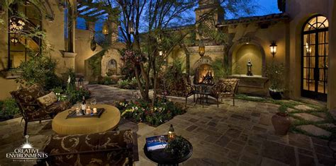 courtyard landscaping design gilbert scottsdale