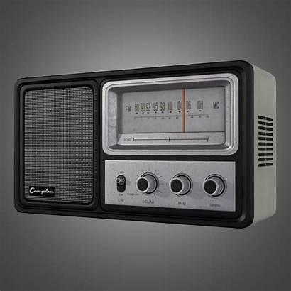 Radio 3d Ready Models Poly Low Electronics