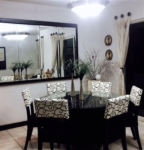 espejo comedor lindo comedor con espejo para espacios peque 241 os ideas