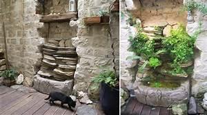 fontaine et mur d39eau pour une decoration interieure ou With fontaine eau decoration interieure