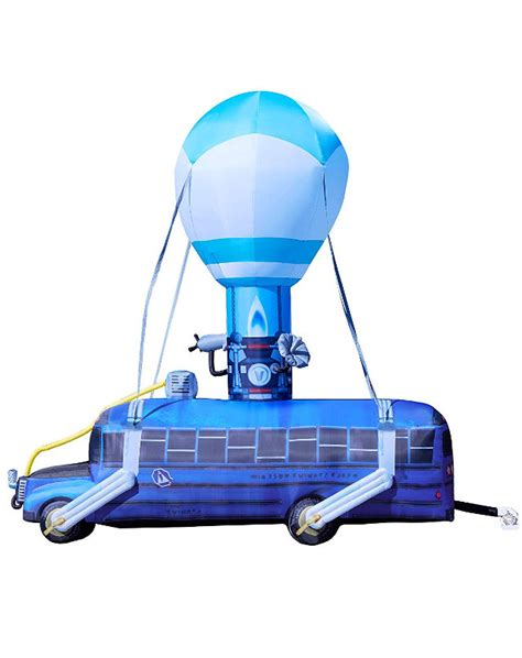 foot inflatable fortnight battle bus front yard