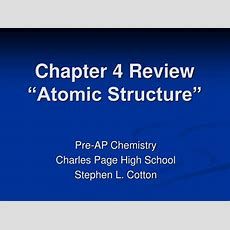 """Ppt  Chapter 4 Review """"atomic Structure"""" Powerpoint Presentation Id283095"""