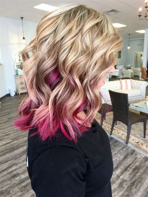 1000 Ideas About Blonde Pink On Pinterest Perfect
