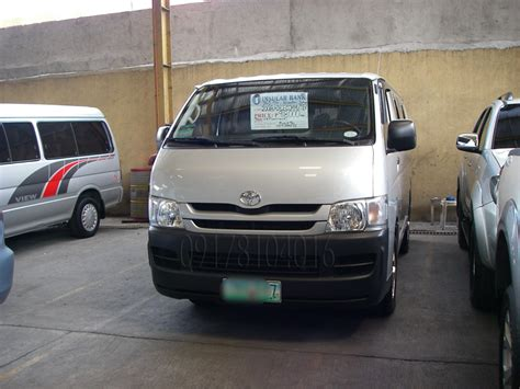 cars  sale   philippines  toyota hiace