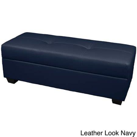 Padded Ottoman Storage Bench by Vanderbilt Tufted Padded Hinged 48 Quot X 19 Quot Loveseat Storage