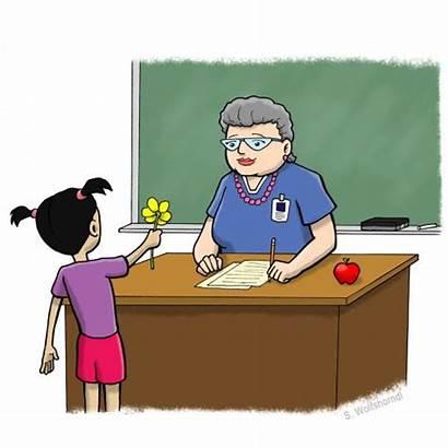 Teacher Clip Homeroom Appreciation Clipart Mom Job