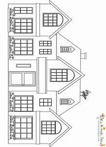 coloriage d39une grosse maison bourgeoise sur tete a modeler With dessin de belle maison