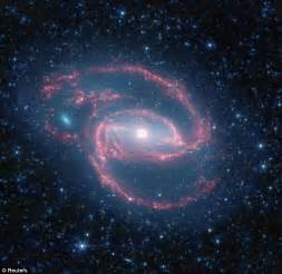 Glorious galaxy with an eye and spiralling spokes seen 50 ...