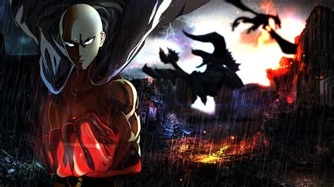 Saitama One Punch Man Wallpaper by ShojiZenshin on