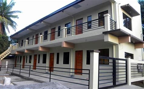 apartment plans philippines apartment for sale in san pedro income generating 9 door apartment in laguna for sale