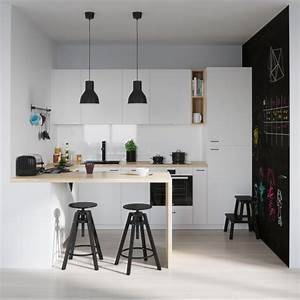 25, White, And, Wood, Kitchen, Ideas