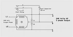 Wiring Diagram For 220 Volt Single Phase Motor  With