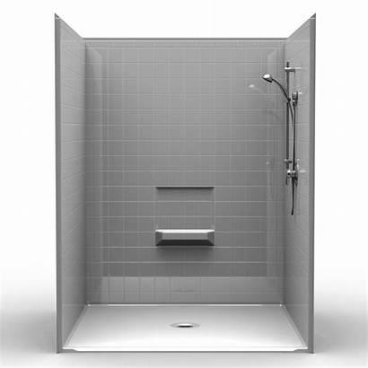 Shower 60 Piece Drain Center Roll Four