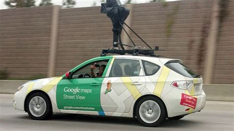 Google Street View Captures Driver Camera Flipping The