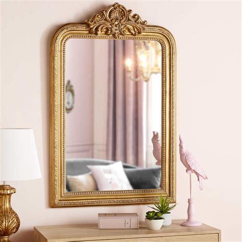 miroir  moulures dorees xcm maisons du monde chambre miroir miroir maison du monde