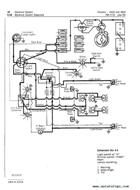 deere 4430 4630 tractors tm1172 pdf manual