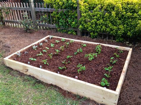 build raised garden bed not so newlywed mcgees diy raised garden bed