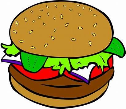 Lunch Printable Clipart Signs Hamburger Cheese Clipartpanda