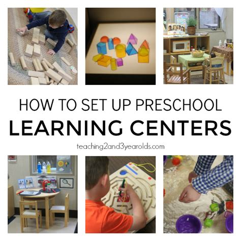 setting up your preschool learning centers 791 | How to set up preschool learning centers