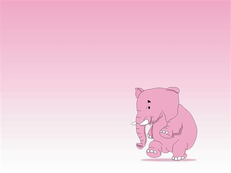 pink elephant wallpaper wallpapersafari