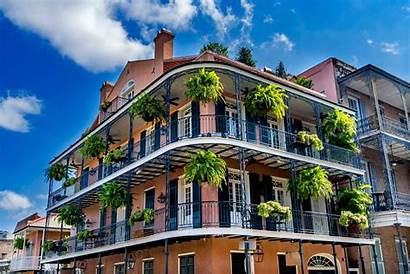Orleans Louisiana French Virtual 2021 Street Building