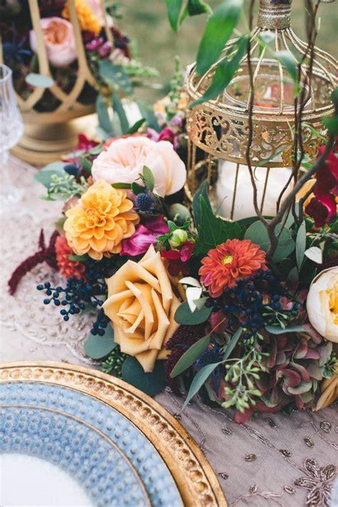 Elegant Fall Wedding Inspiration Junebug Weddings
