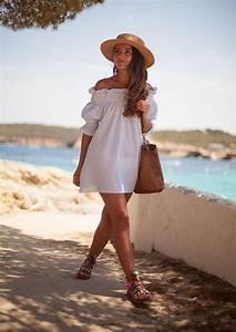 pinterest 43 looks avec une robe blanche a copier cet With robe ete blanche