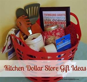 Kitchen Dollar Store Gift - Texas Crafty Kitchen