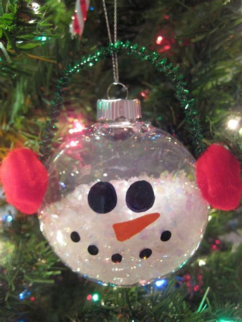 super cute diy snowman ornament holiday crafts pinterest