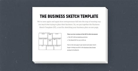 How To Create A Simple, Effective One-page Business Plan
