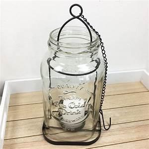Glas Windlicht Zum Hängen : laterne retro transparent glas zum h ngen windlicht metall ~ Bigdaddyawards.com Haus und Dekorationen