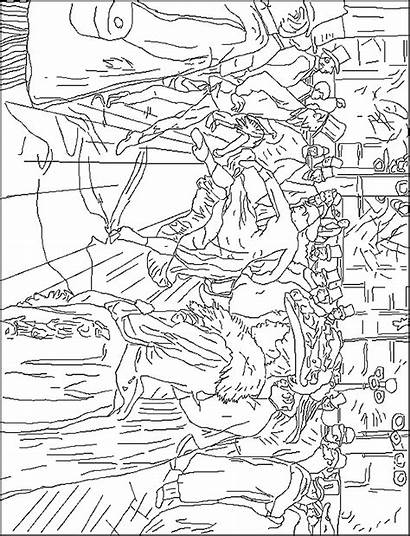 Famous Paintings Coloring Pages Painters Degas Coloring2print