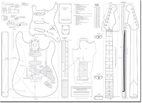stratocaster guitar plans  bikal