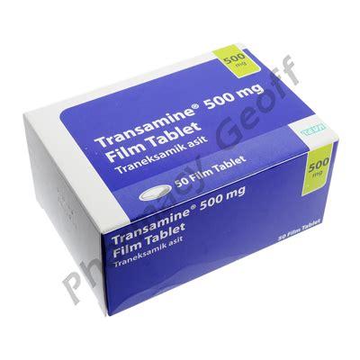 transamine tranexamic acid mg  tablets