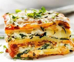 Easy Vegetable Lasagna Recipe - Gluten Free - Wendy Polisi